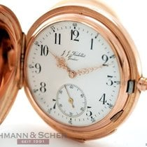 Bardollet Savonette Minute Repeater 14k Rose Gold Bj-1890