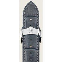 Hirsch Lord Uhrenarmband grau L 04528030-1-20 20mm mit...