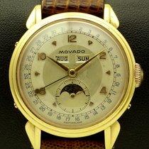 Movado Vintage Triple-Calendar in 18 kt rose gold