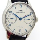 IWC stainless steel 7 Day Power Reserve