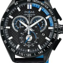 Pulsar Chrono PX7009X1 Herrenchronograph Mit Carboneinlage