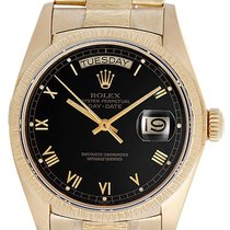 Rolex President Day-Date Custom Bark Finish 18k Gold Men's...
