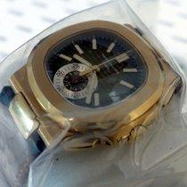 Patek Philippe Nautilus Chronograph Rose Gold Single Sealed -...