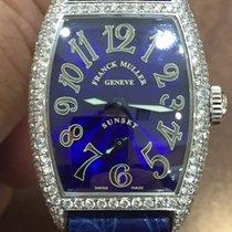 Franck Muller 18K White Gold Sunset Diamond Case 1750 S6