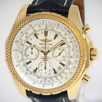 Breitling Bentley Motors 18k Yellow Gold 48mm Mens Watch...
