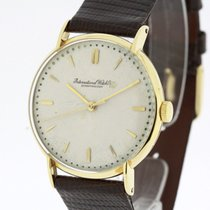 IWC Vintage Men's Watch solid 18K Gold Cal. 60 SERVICED by...