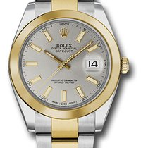 Rolex 126303 sio Datejust 41 Steel and Yellow Gold  Smooth Bezel