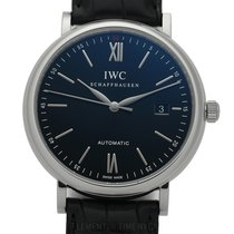IWC Portofino Collection Stainless Steel Date Black Dial 40mm...