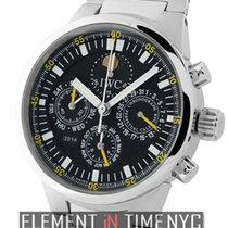 IWC GST Collection Perpetual Calendar Chronograph Black Dial...