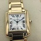 Cartier Tank Francaise 18k Yellow Gold Large Automatic Watch