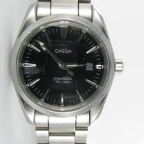 Omega Seamaster Aqua Terra Quartz 38.5mm BlackDial Men's Wat