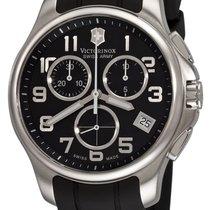 Victorinox Swiss Army Classic Chronograph Steel Mens Watch...