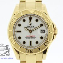 Rolex Yachtmaster Ladies Ref. 168628 solid 18K Yellow Gold...