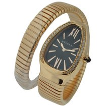 Bulgari SPP35BGDG.1T Serpenti with Diamond Bezel - Rose Gold...