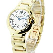 Cartier W69001Z2 Ballon Bleu Small Size - Yellow Gold on Bracelet
