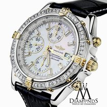 Breitling Diamond Breitling B13355 Windrider Evolution Mother...