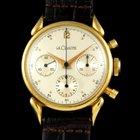 Jaeger-LeCoultre Le Coultre 18 kt gold chronograph 3 counters...