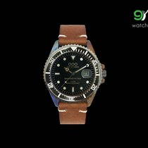 Out Of Order Dark Brown Vintage Leater Italian Watch 40mm