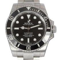 Rolex Submariner non-Date Men's Steel Watch, Ceramic...