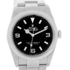Rolex Explorer I Black Dial Oyster Bracelet Mens Watch 114270...