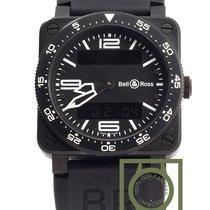 Bell & Ross 03-92 Aviation Black Analog-Digital Dial Black...