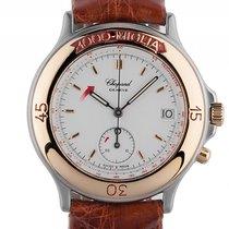 Chopard 1000 Miglia Stahl Gelbgold Chronograph Armband Leder...