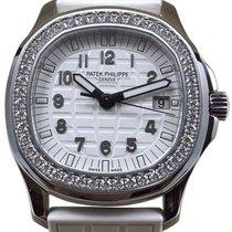 Patek Philippe 5067A-024 Ladies Aquanaut 35.6mm White Embossed...