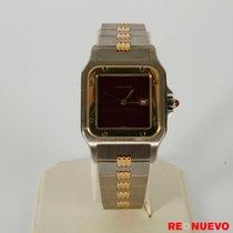 Cartier SANTOS GALBEE ACERO Y ORO