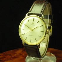 Omega 14kt 585 Gold Handaufzug Herrenuhr / Kaliber 601 / Ref 1211