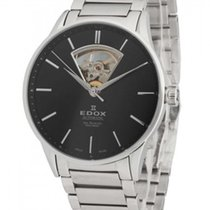 Edox Les Vauberts Men's Automatic Watch - 85011-3N-NIN