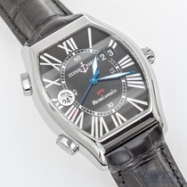 Ulysse Nardin Michelangelo Gigante UTC Dual Time Steel Watch...