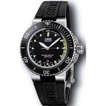 Oris Men's 733 7675 4154-SET RS Aquis Depth Gauge Watch