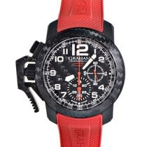 Graham Chronofighter Oversize Superlight Carbon Watch 2CCBK.B1...