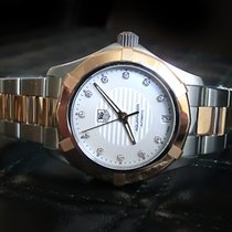 TAG Heuer Aquaracer Lady Automatic Diamonds Steel Rose Gold