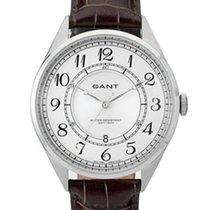 Gant Crofton W70472 Herrenuhr silber braun 41 mm