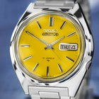 Seiko Actus Day Date Automatic, Yellow Dial