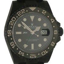 "Rolex GMT Master II ""Black Edition JRH"" Stahl DLC..."