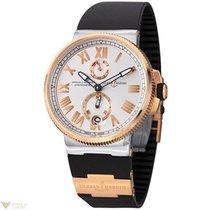 Ulysse Nardin Marine Chronometer Stainless Steel & Rose...