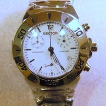 Sector CRONOGRAPH 220 Prestige Lady Day-Date Wr 10ATM acciaio...