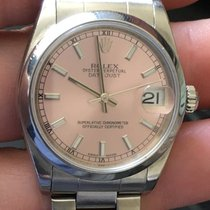 Rolex Midsize Ss Oyster Perpetual Datejust 31mm Saphire...