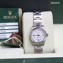 Rolex Ladies Oyster Perpetual 176200 Stainless Steel Box &...