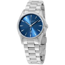 Hamilton Blue Dial Stainless Steel Ladies Watch H32315141