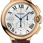 Cartier BALLON BLEU ROSE GOLD CHRONOGRAPH AUTO SKELETON...