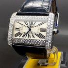 Cartier Tank Divan Large Automatic 3.5 Ct. VS Diamonds