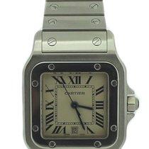 Cartier Santos Galbee Stainless Steel Watch 1564