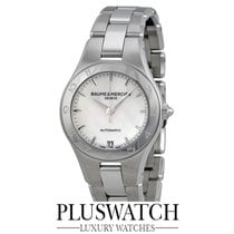 Baume & Mercier Linea Mother Of Pearl Dial Steel Case 32mm...