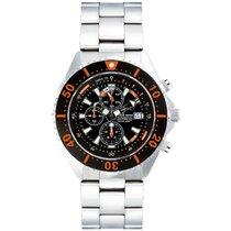 Chris Benz Uhr Taucheruhr Depthmeter Chronograph CB-C300-O-MB