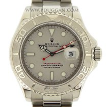 Rolex stainless steel and platinum Yachtmaster