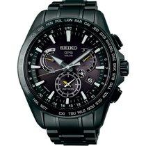 Seiko Herrenuhr Astron GPS Solar Dual Time SSE079J1