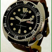 Seiko Early Turtle 6309-7049 Diver 150M Automatic Day/Date 44mm